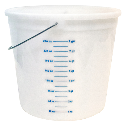 Picture of 10 Qt. Pail with Graduations
